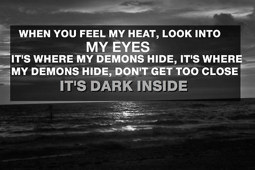 imagine dragons demons lyrics song - photo #18